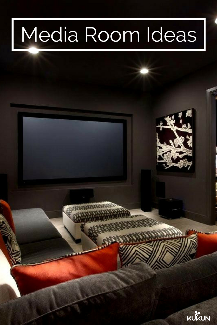 How To Make The Most Of Your Home Media Room Kukun Small Media Rooms Media Room Decor Theatre Room Seating