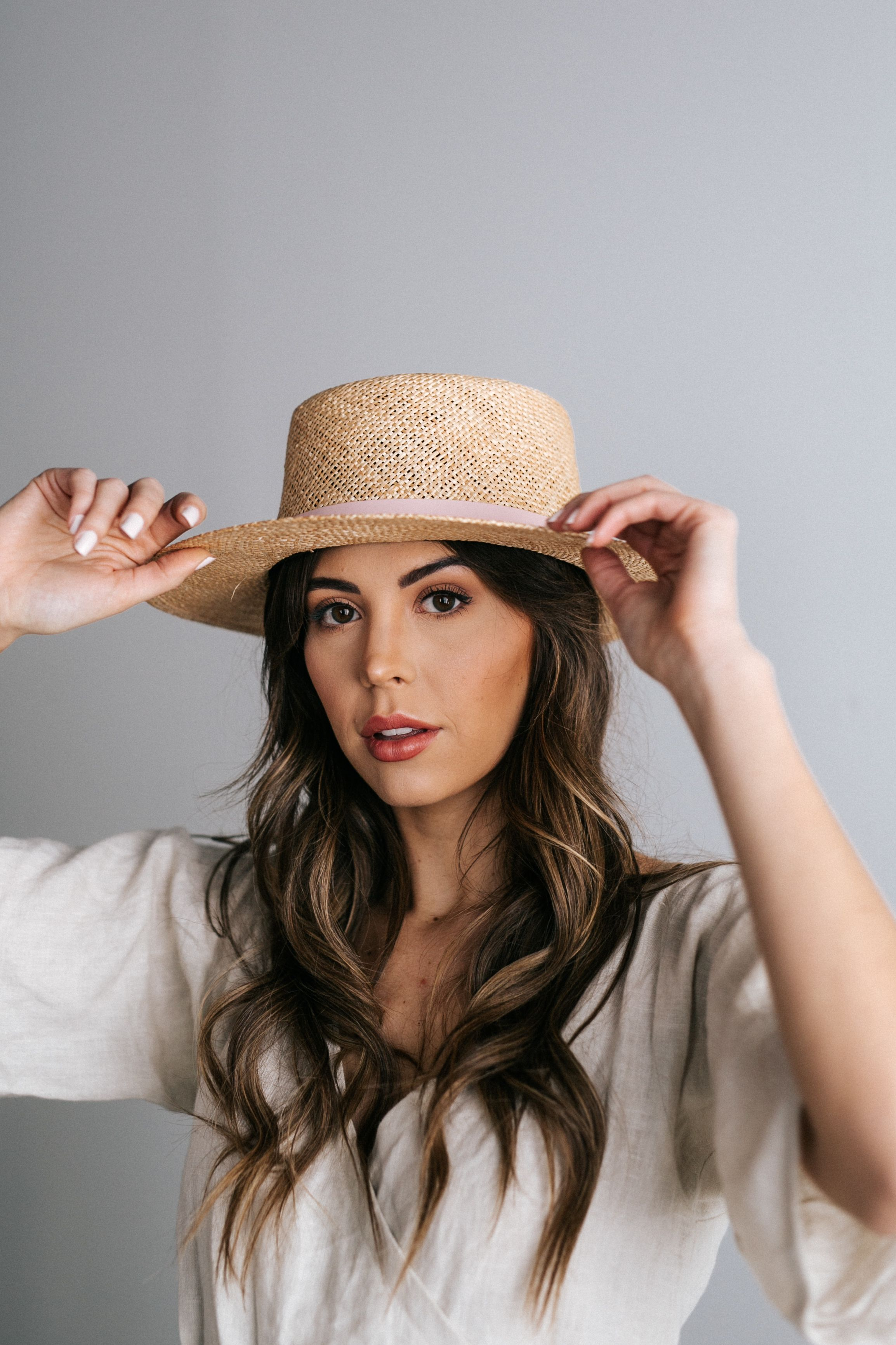 70c46635 Our straw hat collection consists of a wide range of women's hat styles  including floppy sun hats, wide brim straw hats, short brim straw hats, ...