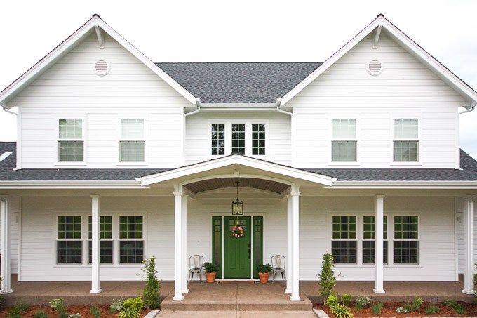 Dream House Update 5 Farmhouse Style Favorites Front Porch Pillars Porch Pillars Modern Farmhouse