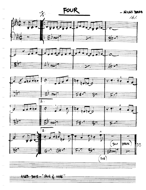 Jazz Realbook I Page 161 Four Miles Davis Jazz