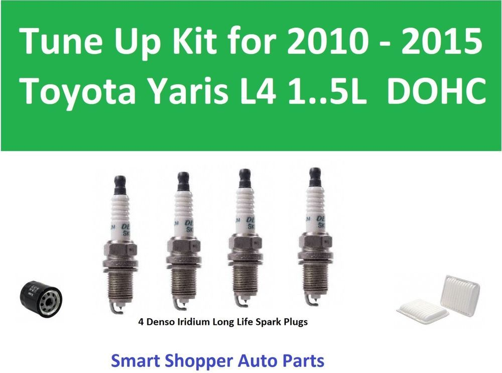 Denso Spark Plug Ignition Wires Set for Subaru Forester 2.5L H4 1998 Tune Up fo