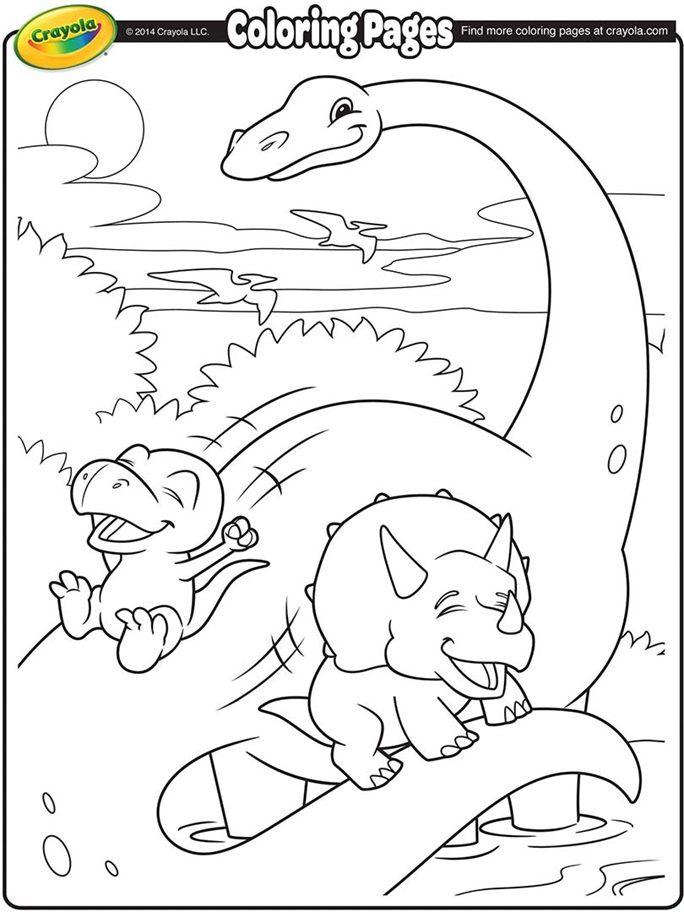 Brachiosaurus Coloring Page Dinosaur Coloring Pages Crayola Coloring Pages Dinosaur Coloring