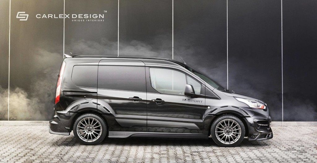 Carlex Design Gives The Ford Transit Connect A Racy Makeover