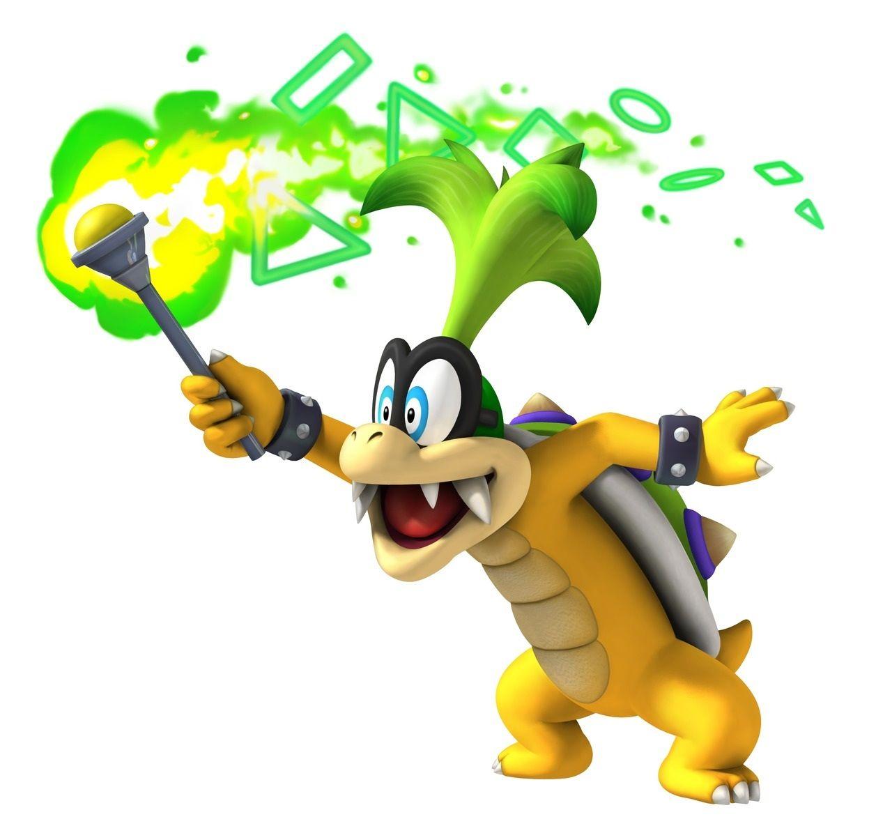Image Result For Koopa Super Mario 64 Transparent Iggy Mario