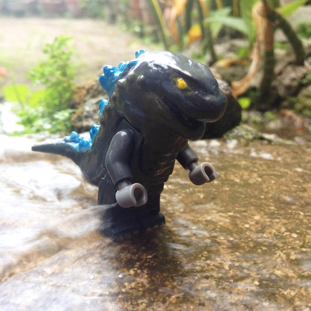 Custom lego Minifig Godzilla #Lego #Godzilla #Godzilla2014 ...