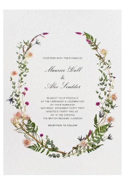 Wedding Invitations Online.11 Online Wedding Invitations That Make The Case For Going Paperless