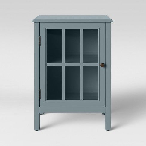0cc8a305988 Windham One Door Accent Cabinet Windsor Blue - Threshold™   Target