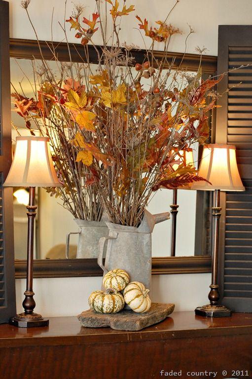 Gorgeous fall leaves hallowen decoraci n oto al manualidades oto o y decoracion oto o Decoracion otono