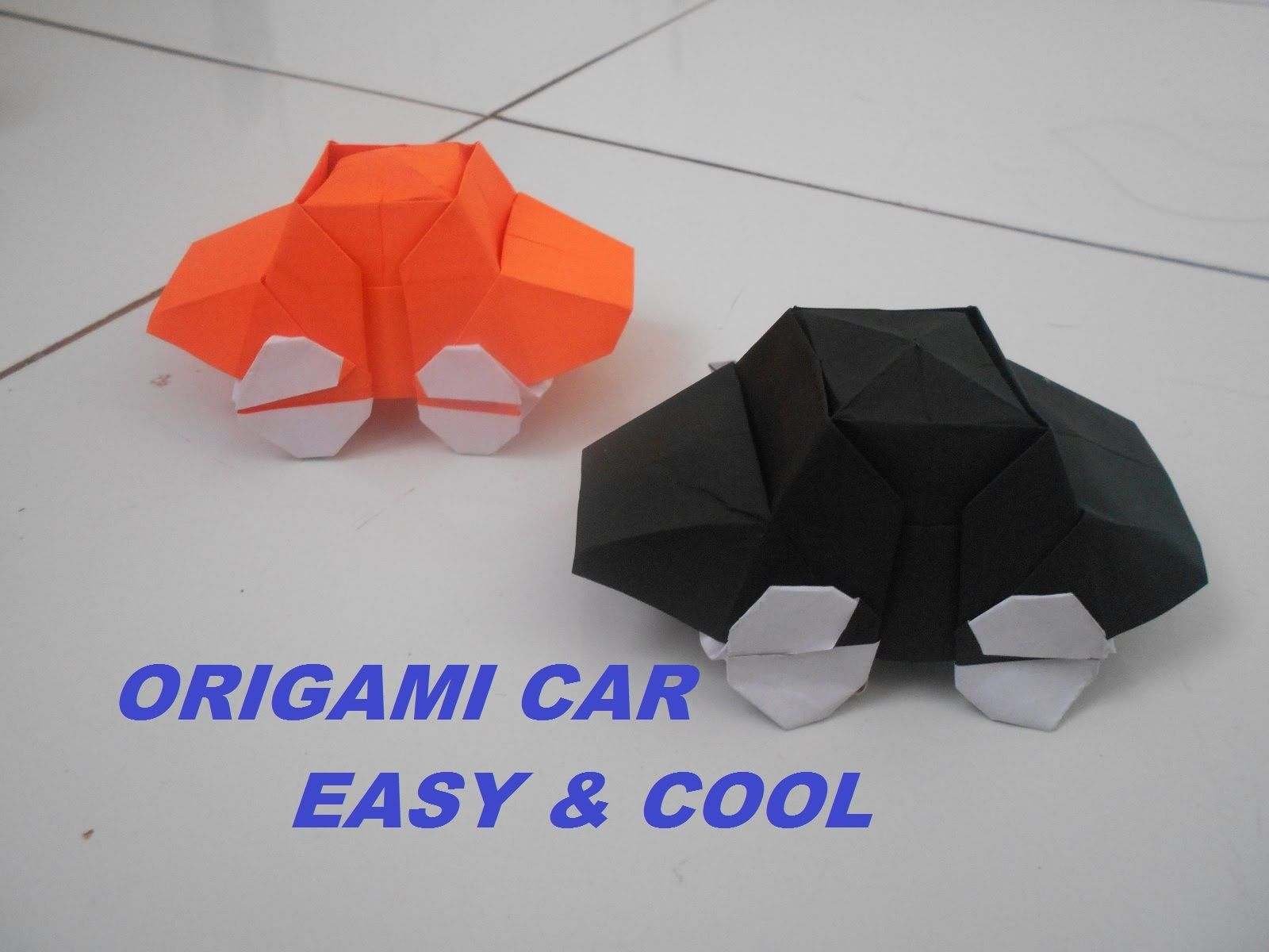 Origami Car How To Make A Paper Car Easy Cool Origami Paper