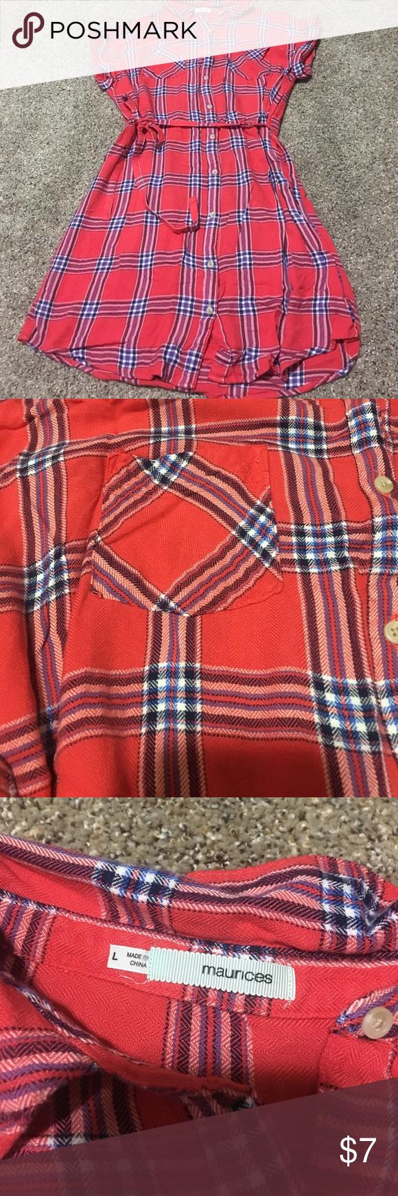 Orange flannel jacket  Redorange flannel shirt dress  Red orange color Flannel shirts