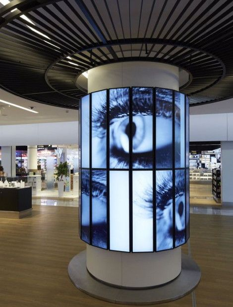 360 Degree Video Column At Paris Airport – Wow! | FMB Degree