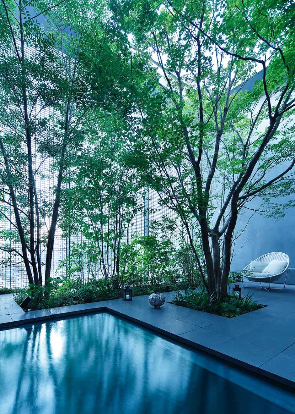 Stories on Design Outdoor Rooms Hiroshima japan Optical
