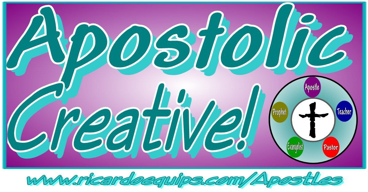 Apostolic Creative By Apostle Ricardo Butler The purpose of