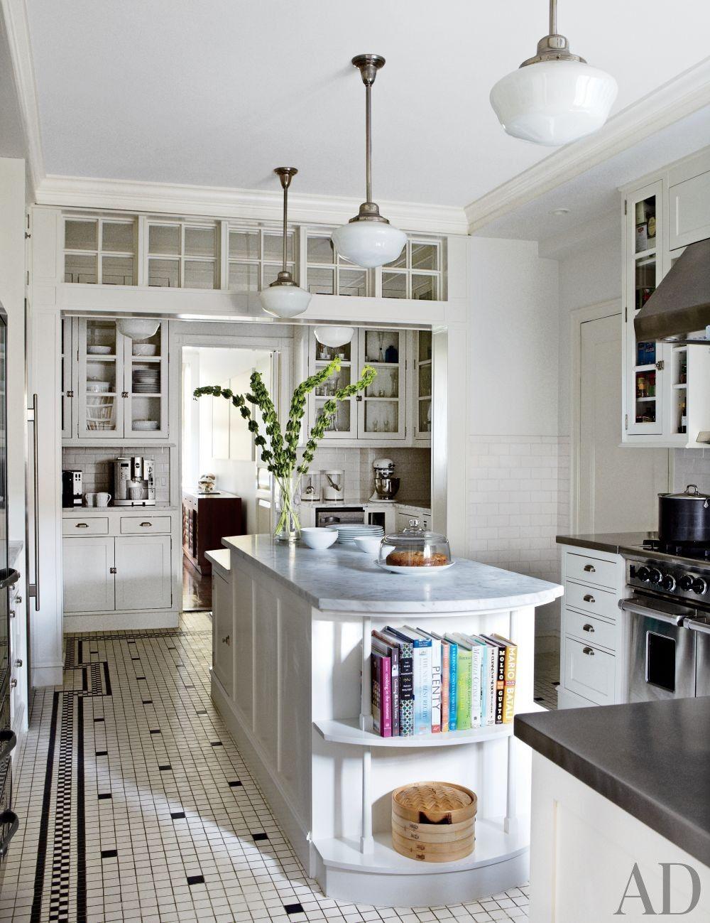 Traditional Kitchen by Gomez Associates Inc. in New York, New York   archdigest.com