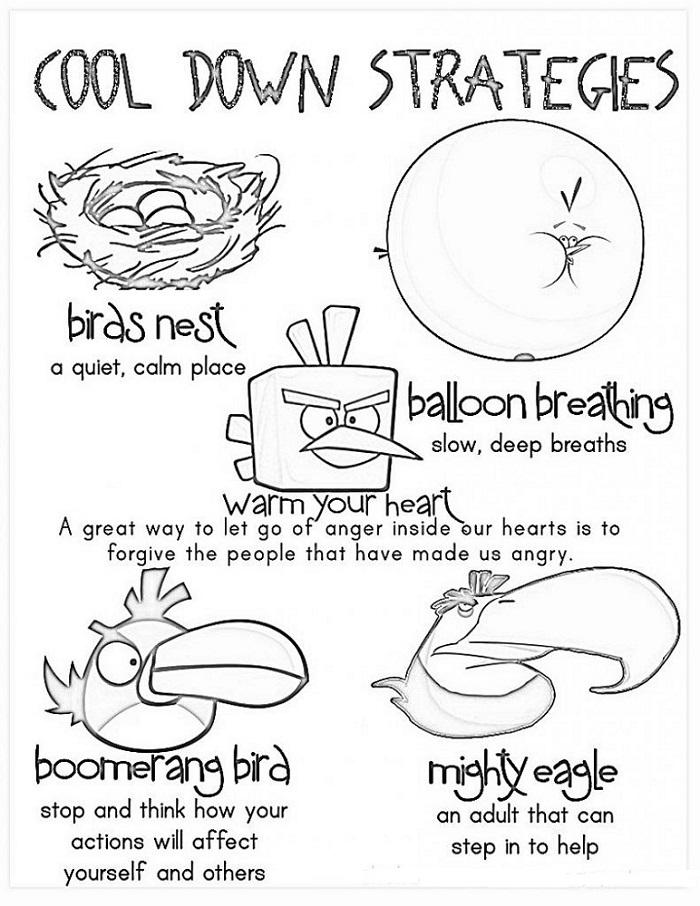 Anger Management Coloring Pages Printable Anger Management Worksheets Therapy Worksheets Coping Skills Worksheets