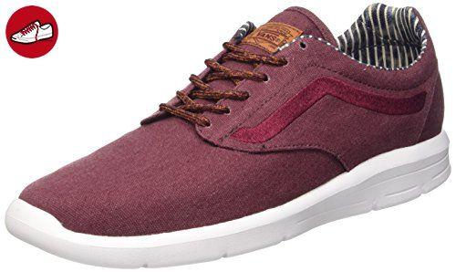 Vans Iso 1.5 Plus, Unisex-Erwachsene Sneakers, Rot (waxed C&l/port