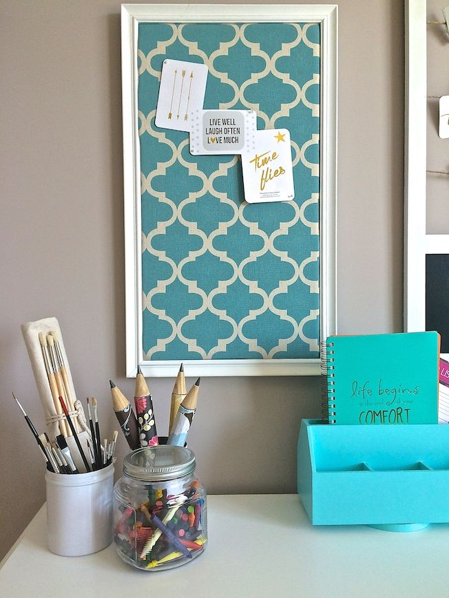 You Can Be More Productive In A E Love Office Inspiration With Teals Quatrefoil And Fun Journal