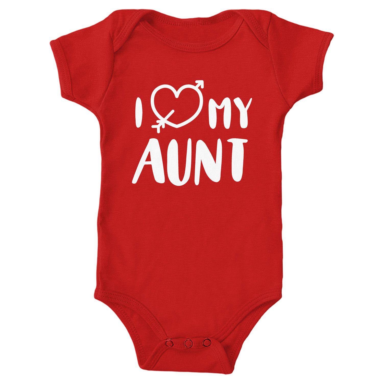 17c6a4b4c I Love My Aunt Onesie I Love My Aunt Shirt