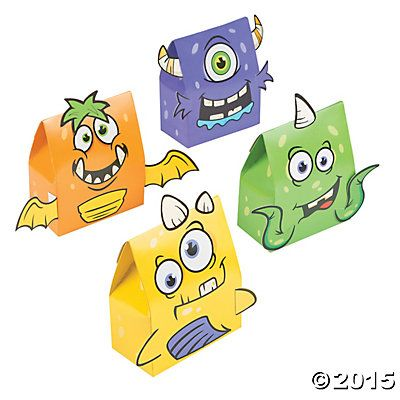 Monster Treat Boxes