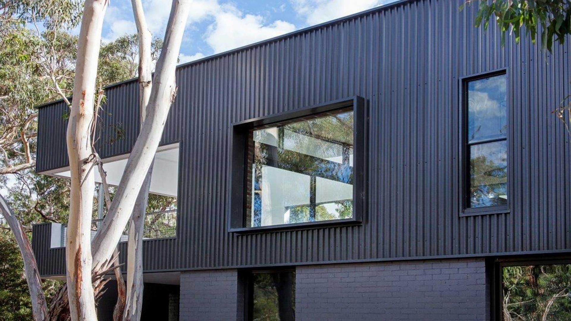 Exterior Colourbond Windows Allan Lamb Designed Home