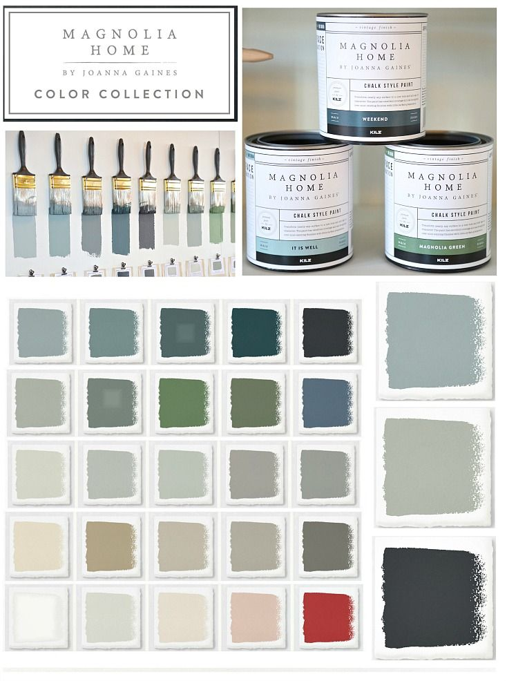 Joanna Gaines Chalk Style Paint Line | Color | Magnolia homes paint