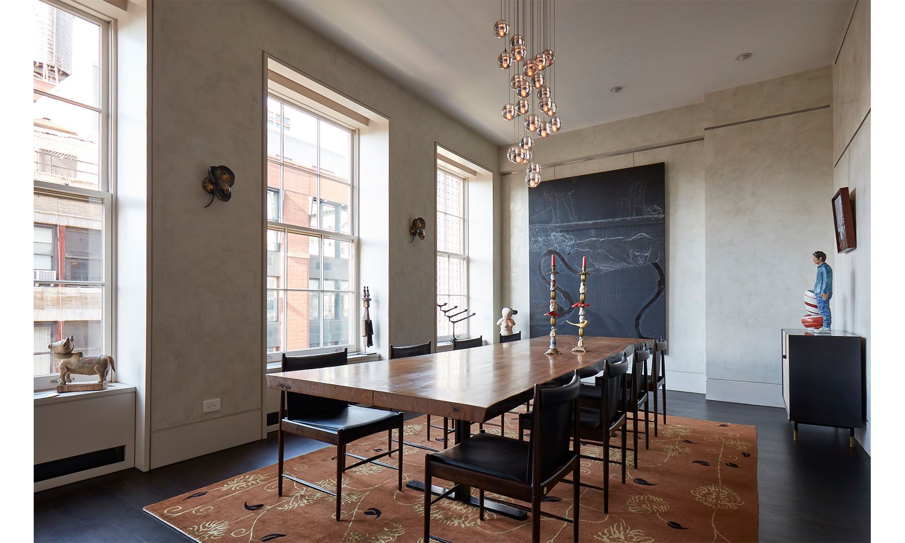 Tour a Stunning Soho Triplex Penthouse in NYC Penthouses Soho and