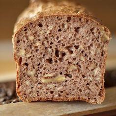 Walnuss-Dinkelbrot, so saftig und lecker ! #hefeteigfürpizza