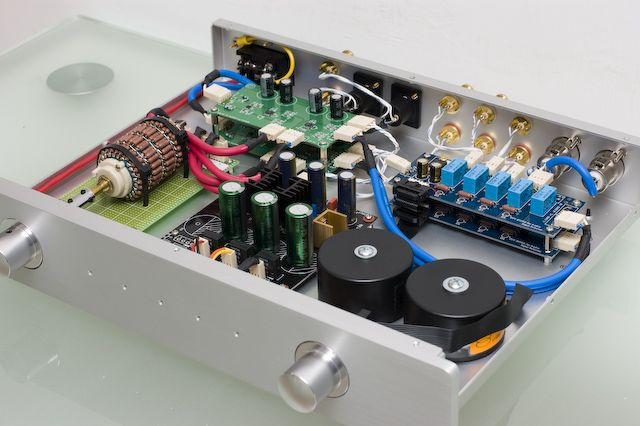 Diy Audio Balanced Preamp Diy Amplifier Audio Diy Speakers