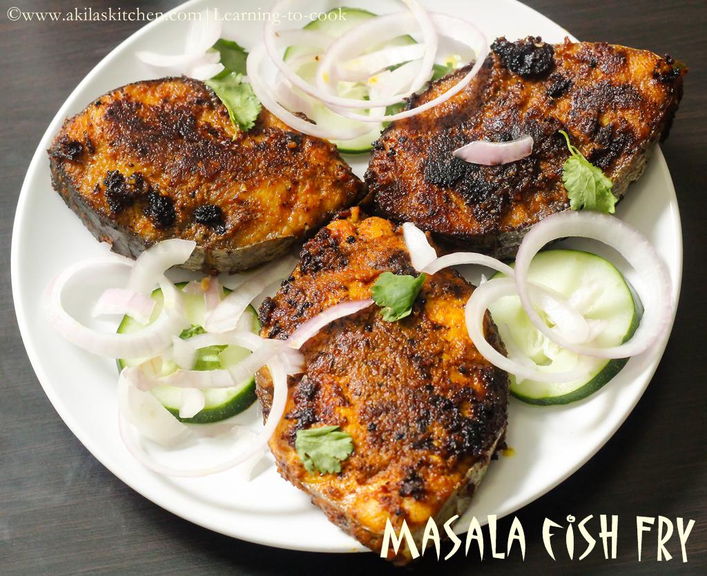 Masala Fish Fry Recipe How To Make Masala Fish Fry Step By Step Masala Meen Varuval Fish Recipes Learning To Cook Recipe Masala Fish Fry Masala Fish Fried Fish Recipes