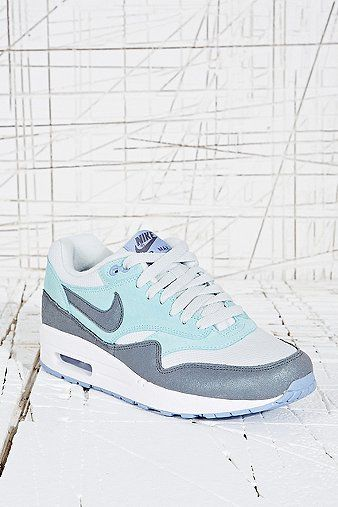 Nike Air Max 1 Trainers in Pale Blue