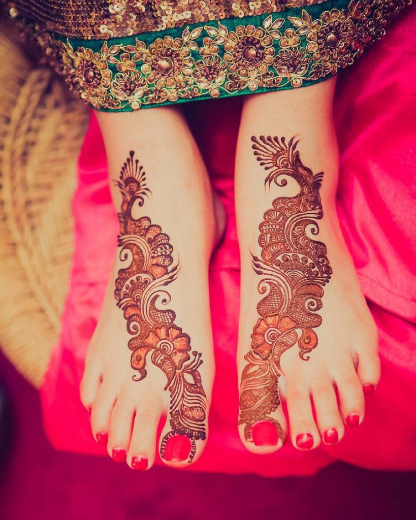 20 Gorgeous Feet Mehndi Designs that you'll Louuuuve!