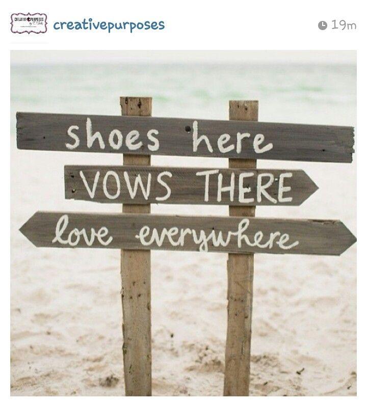 Beach theme wedding idea #BeachWeddings #FloridaWeddings