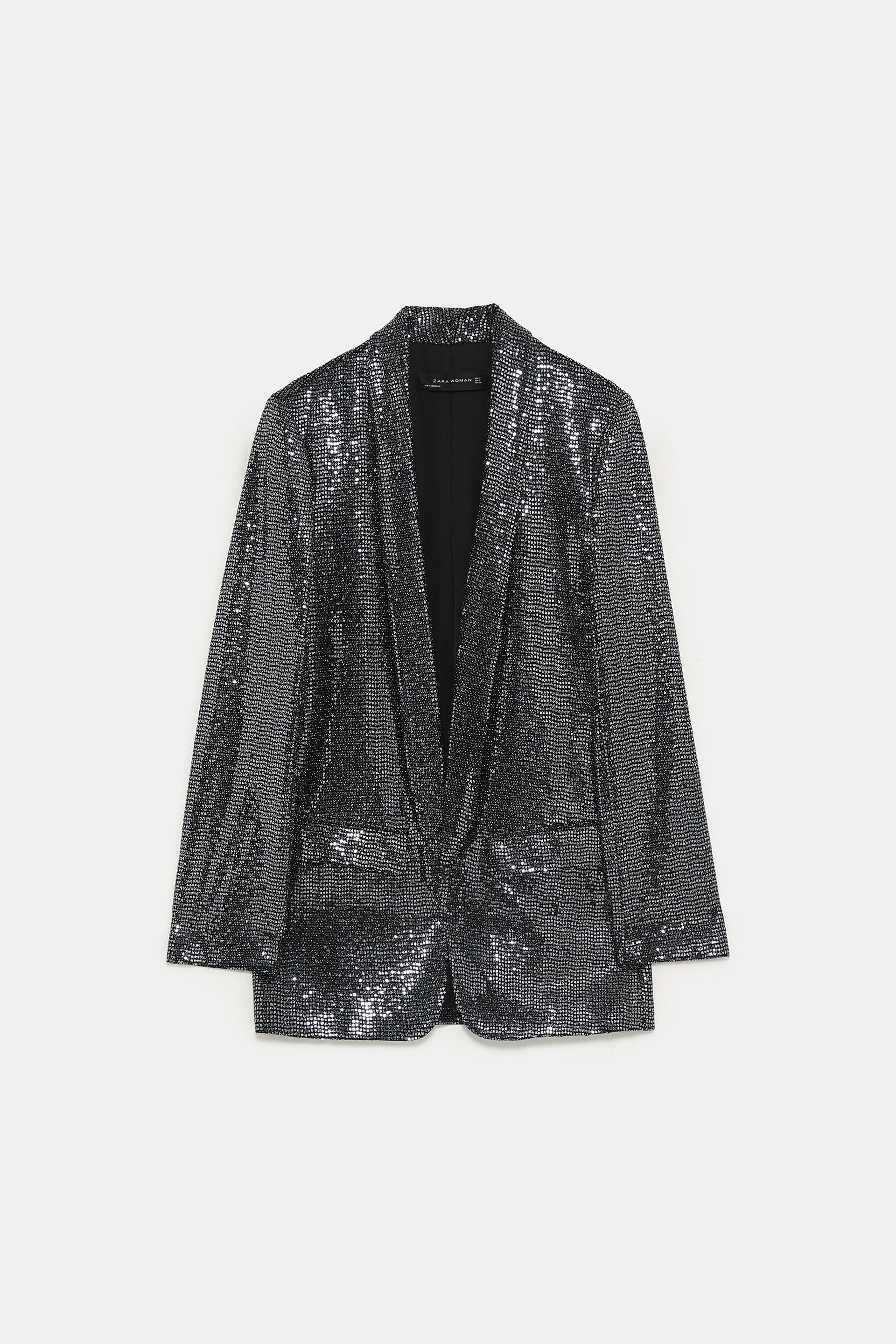 4f46514a40e89 Image 7 of SEQUIN JACKET from Zara
