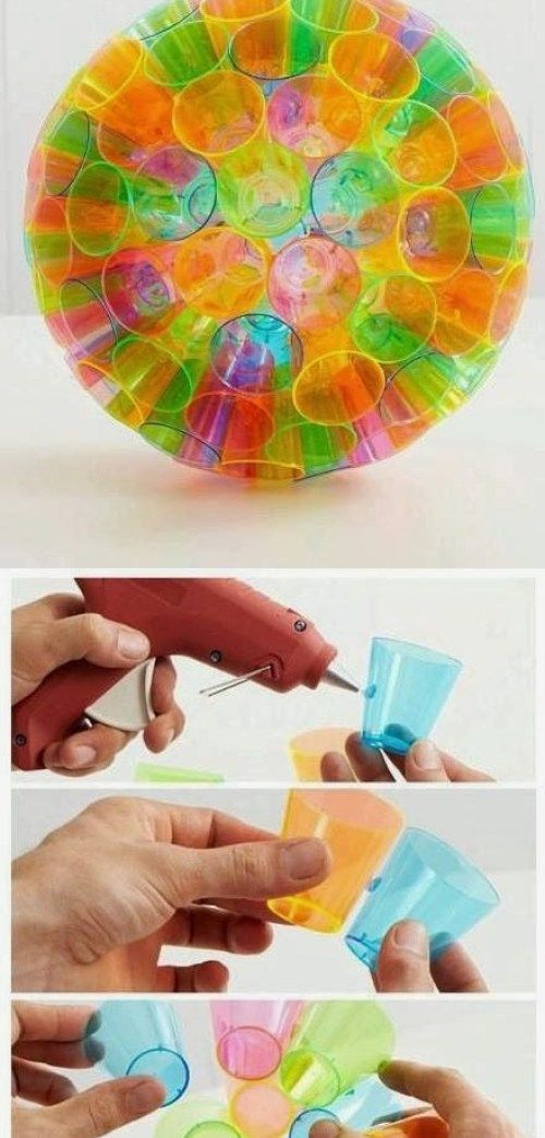 ideas de bricolaje casero sencillo con materiales reciclados (12 ... 933fa59cf2f