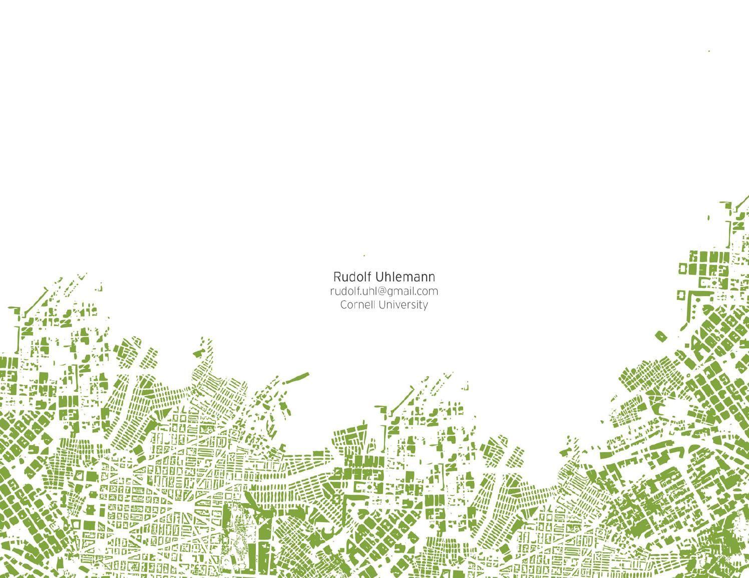 landscape architecture student portfolio