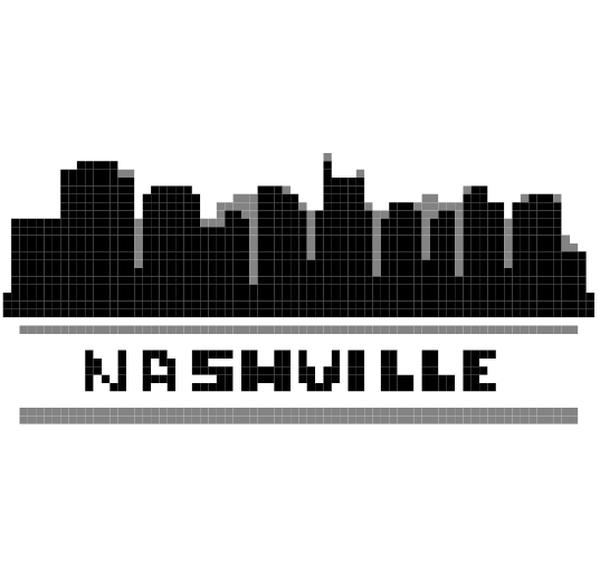 Nashville Skyline Crochet Graphgan Pattern Nashville Skyline Pattern Nashville