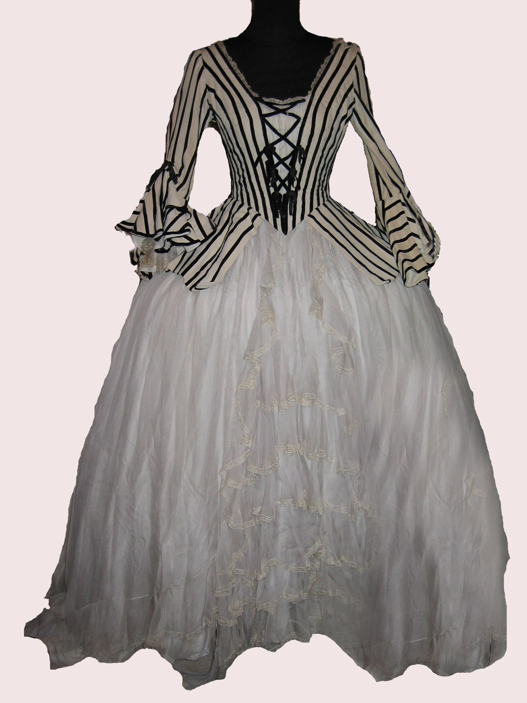"""Anne Baxter gown from """"A Royal Scandal""""."""