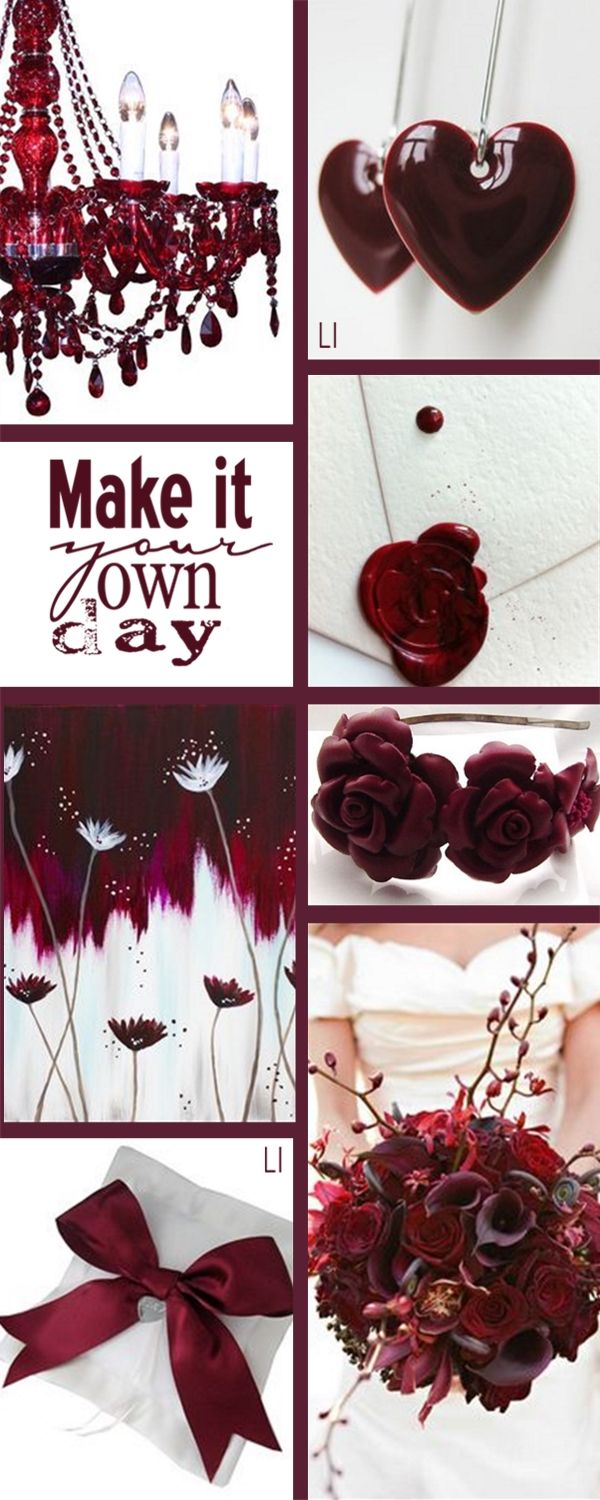 Great Christmas boards, Mary ♥ let's do BURGUNDY, WHITE ...