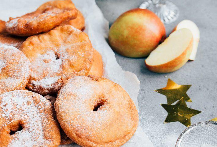 Appelbeignets met kaneelsuiker - Uit Pauline's Keuken