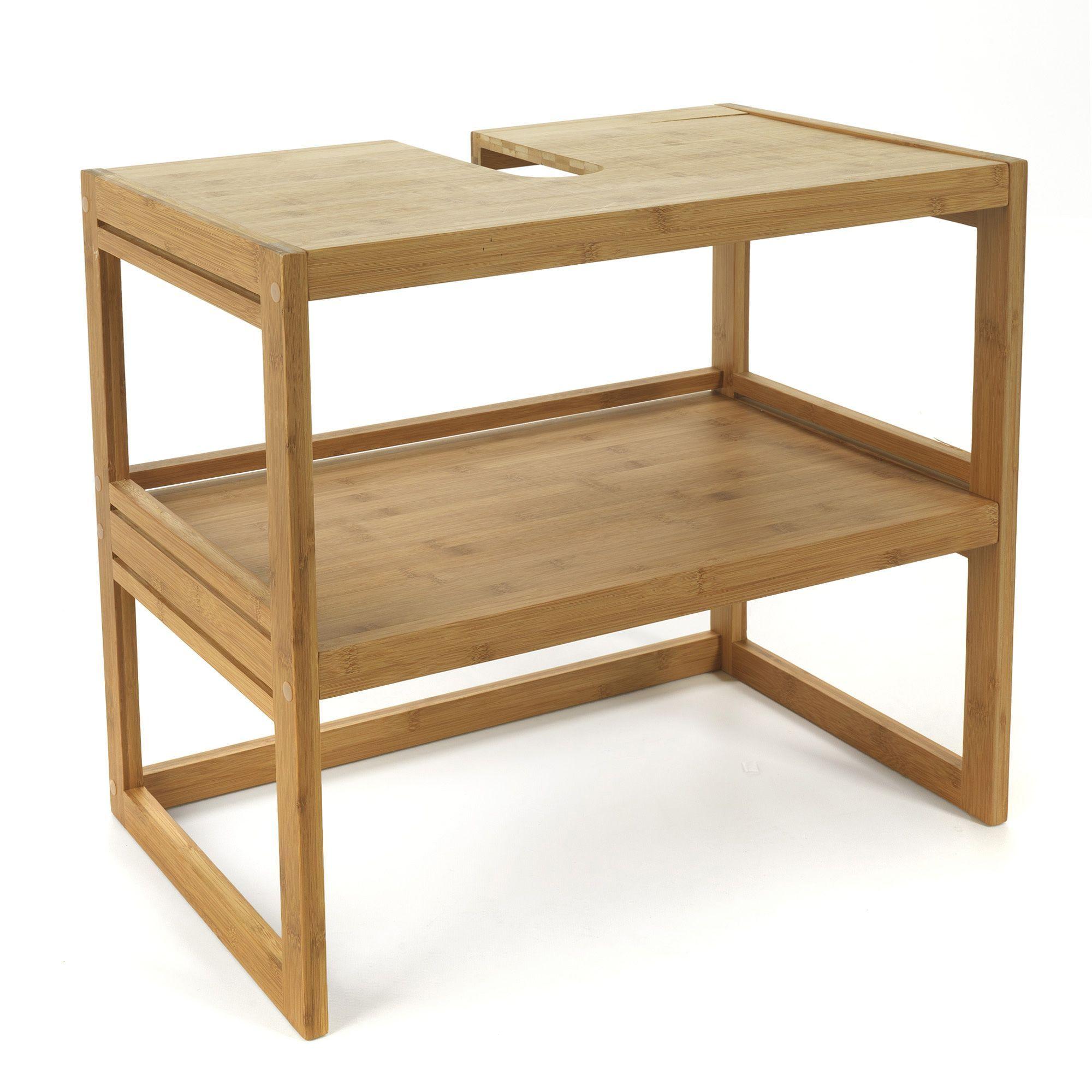 meuble sous lavabo en bambou bambou danong les meubles. Black Bedroom Furniture Sets. Home Design Ideas