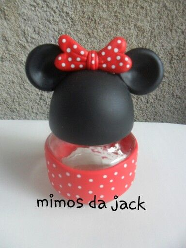 Lembrancinha minnie biscuit