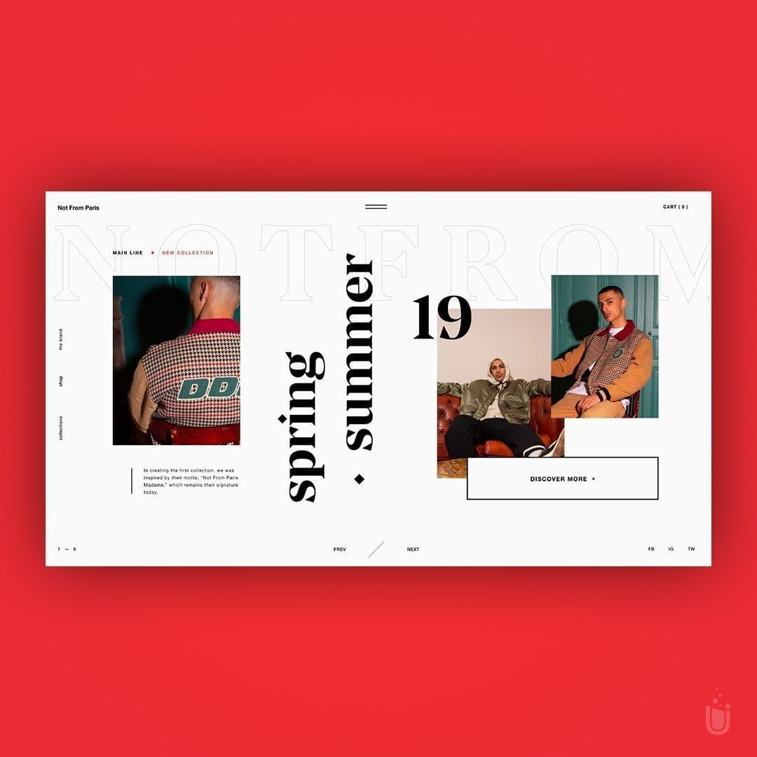 Streetwear Design B Webdesignbooks Web Layout Design Portfolio Web Design Book Design