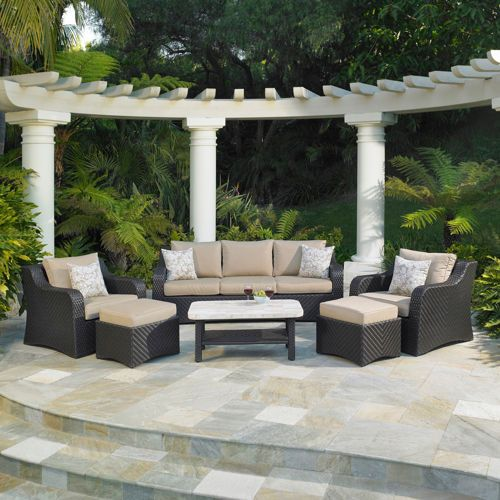 Furniture: Valencia Deep Seating Set By Mission Hills®