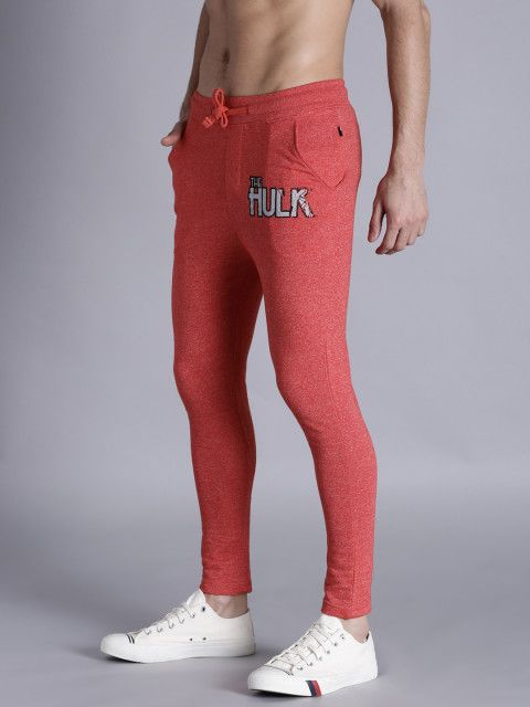 9df4c88918 Buy Kook N Keech Red Joggers - Track Pants for Men | Myntra | t ...