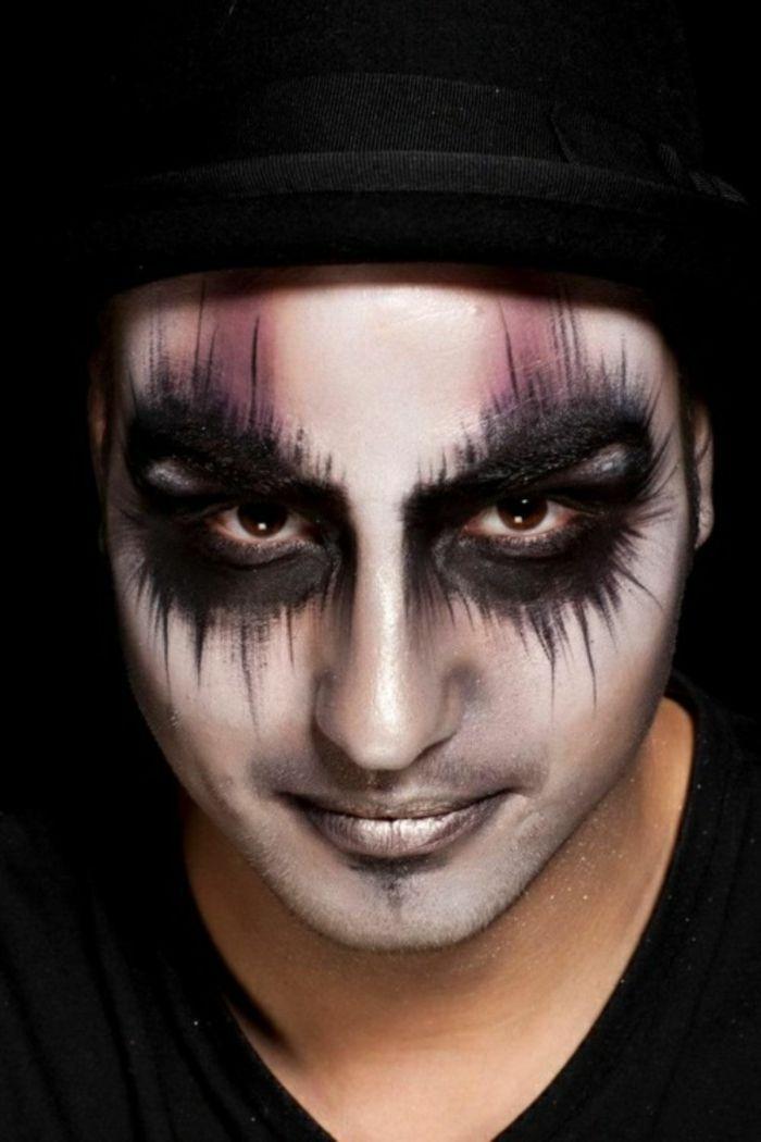 Halloween Schminkideen für ein Grauen erregendes.