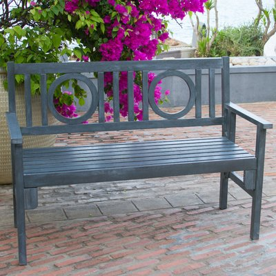 Beachcrest Home Fort Lauderdale Wooden Garden Bench Color Beach