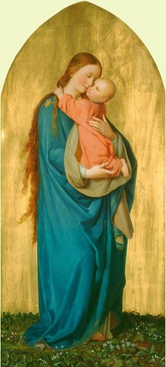 The Virgin and Child by Franz Ittenbach