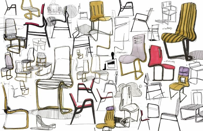 Furniture Design Sketches. Design Portfolios Furniture Sketches
