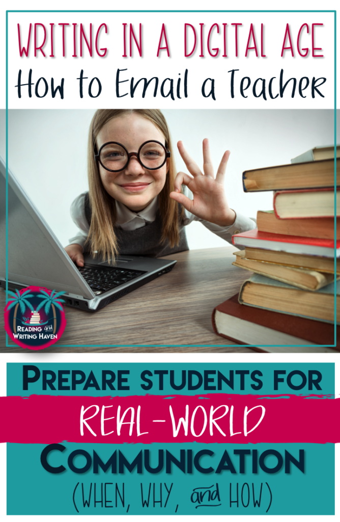 Email Etiquette: Teaching Students How to Email a Teacher | Reading and Writing Haven