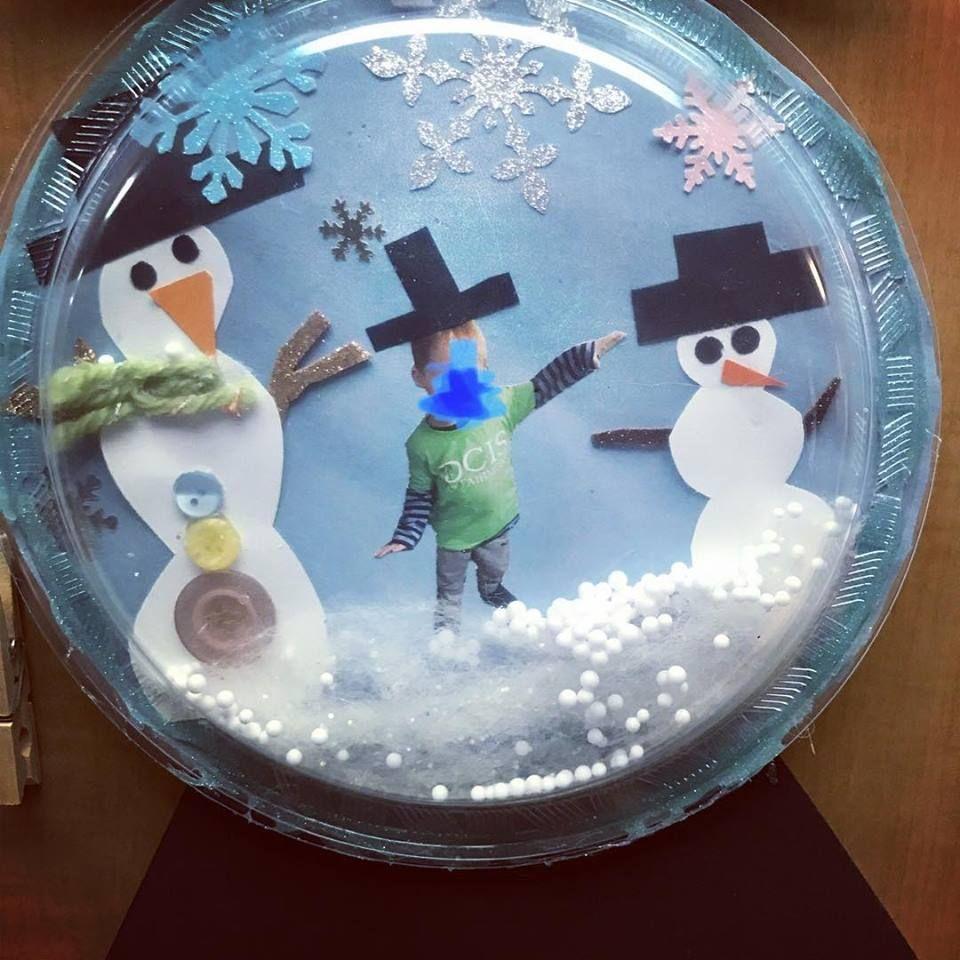 Tipss und Vorlagen Snow globe samples winter activity